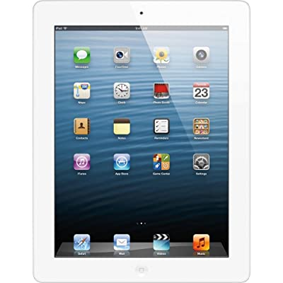 Apple iPad with Retina Display MD513LL/A (16GB, Wi-Fi, White) 4th Generation