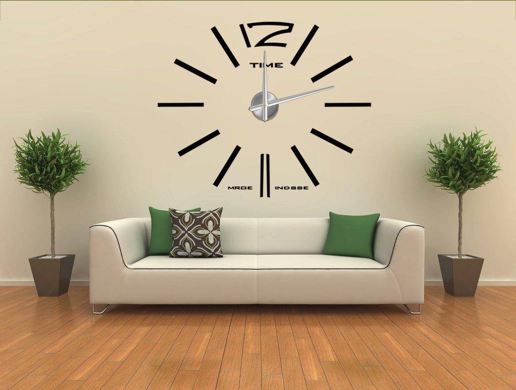 Wanduhr 100 cm 3 D XXL Uhr Moderne Selbst gestaltbare Do-it-yourself Design 1