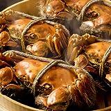 上海蟹 オス(大)(200g)2杯×メス(130g)2杯。上海蟹をおとどけねっとでご賞味ください。