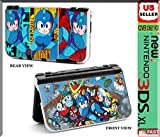 FOR NINTENDO NEW 3DS XL Console DECORATIVE PROTECTIVE PLASTIC CASE WITH MEGA MAN COOL DESIGN
