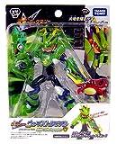 Megaman Rockman Star Force Takara Wave Battle DX Action Figure WM-04 Green Dragon Megaman