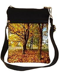 Snoogg Leavy Ground Cross Body Tote Bag / Shoulder Sling Carry Bag