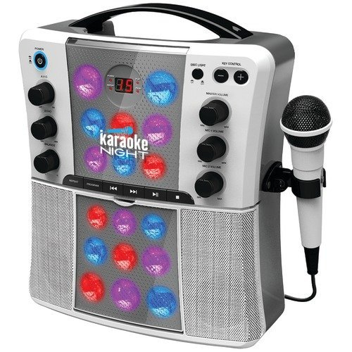 Karaoke Night Cd+G Karaoke System With Led Light Show