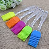 JKbK Multicolor Silicon Basting Oil Brush Kitchen Tool - Color May Vary