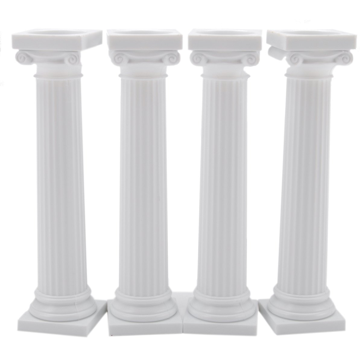 How To Stack Wedding Cakes With Pillars
