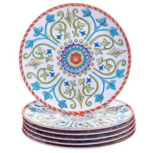 Certified International Corp Tuscany Salad/Dessert Plates, 9