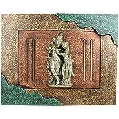 Mumbai Mad Plastic Radha Krishna Frame (7 Cm X 9 Cm X 7 Cm)