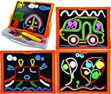 Educational Toys Lace and Trace with Board By ETI Toys for Boys and Girls 58 Piece set for endless fun! Great for Learning, Developing and Having Fun. Draw your design Today!