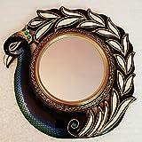 RajLaxmi's Peacock Wall Mirror For Home/Peacock Wall Mirror / Wall Decorative / Wall Mirror / Vintage Mirror /... - B01N5UPJBE