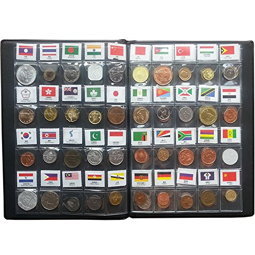 60 Countries Coins Collection Set Fine Coins