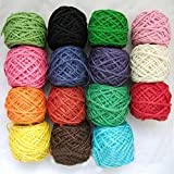 Generic 15color : Color DIY 2MM Handmade Rope Clip Rope Tag Technology Photo I Color Meters Rope 50 A Roll Of...