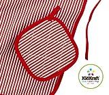 KidKraft Tasty Treats Chef Accessory Set - Red