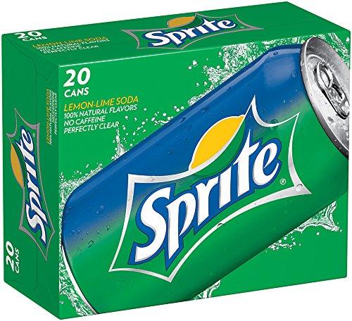 Sprite, 20 PK, 12 Fl oz Cans