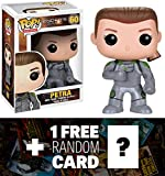 Petra: Funko POP! x Ender's Game Vinyl Figure + 1 FREE Classic Sci-fi & Horror Movies Trading Card Bundle [37086]