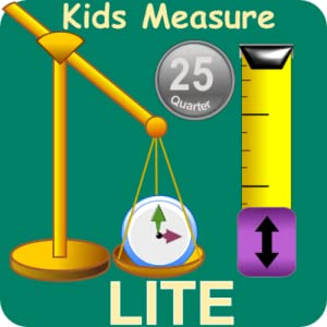 Kids Measurement Science Lite - Length, Weight, Time and Money games