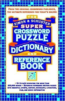 Simon and Schuster Mega Crossword Puzzle Book #1