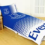 Everton FC Fade Reversible Double Duvet Cover and Pillow Case Set