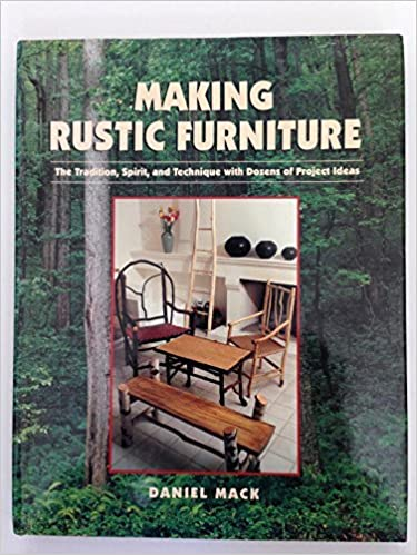 Book About Making Rustic Furniture