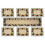 Loomkart Table Mats (Set Of Six) With Table Runner On Jacquard Fabric