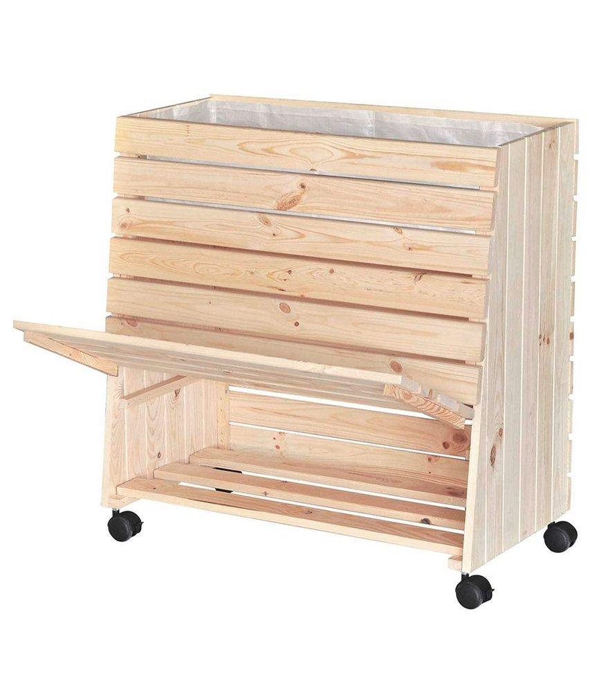"Multifunktions-Hochbeet ""Greenbox®"" M (79 x 80 x 30 cm), Fichte"