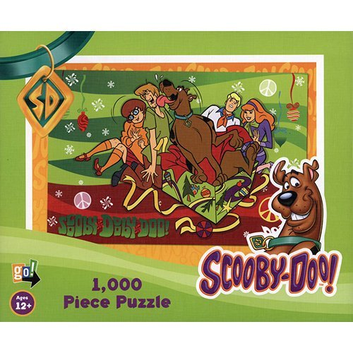 Scooby Doo Holiday 1000 Piece Puzzle by Go! Games