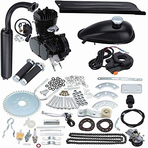 Seeutek 80cc bicycle engine motor kit motorized bicycle engine for 26″ or 28″ Wheel