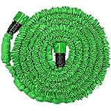 Generic Green 50FT : Garden Extension Magic Hose Natural Bicolor Rubber Latex Tube Blue Green 25FT 50ft 75ft 100FT...