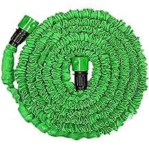 Generic Green 75FT : Garden Extension Magic Hose Natural Bicolor Rubber Latex Tube Blue Green 25FT 50ft 75ft 100FT...