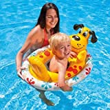 Intex Inflatable Swimming Pool See Me Sit Pool Float Rider For Kids (Dog)