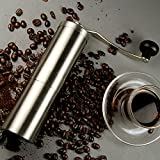 Generic Stainless Steel Coffee Grinder Kitchen Pepper Grinder Compact And Portable Grain Size Can Be Adjusted...