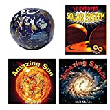 Children Learn About The Sun, Space & Solar System 4 Piece Gift Bundle Ages 6+