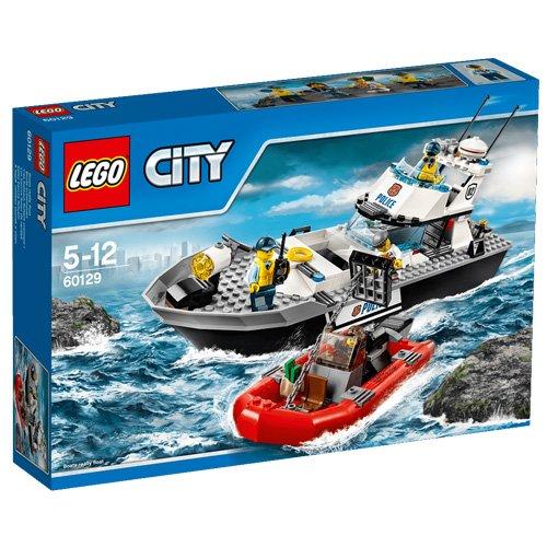 Pubblicità di Cartoonito e Rai YoYo: LEGO City Police 60129 - Motoscafo della Polizia al miglior prezzo sottocosto