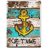 DailyObjects Anchor Marine In Blue Case For IPad Mini/Retina Display