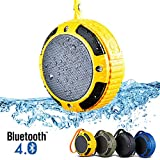 Alpatronix AX320 Ultra-Portable Mini Bluetooth Speaker & Rugged Splashproof Wireless Stereo Speaker With Built-In...