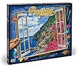 Schipper Positano on Amalfi Coast Paint-by-Number Kit