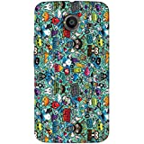 Timpax Light Weight Hard Back Case Cover Printed Design : Abstract Design.100% Compatible With Motorola Moto X...