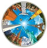 Round Table Puzzle - Legendary Landmarks (500 Piece)