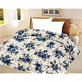 Lali Prints Luxury Blue Quilt A.C Blanket Single Bed Size Dohar