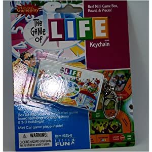 Click to buy The Game of Life keychain from Amazon!