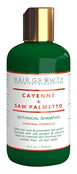 Scalp Stimulating and hair growth Shampoo