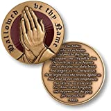 The Lord's Prayer Coin Model:
