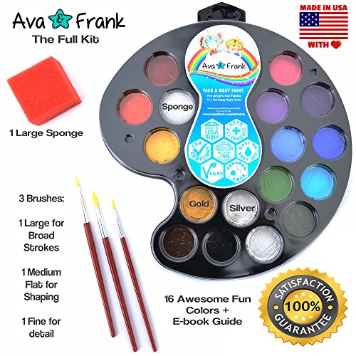 what kind of paint to use on cabinets and frank 16 color non toxic painting kit 28327
