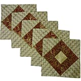 Kriti Creations Set Of 5 Royal White Cushion Covers (16*16 IN)