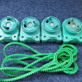 4 New Beyblade Light Launcher 1's With Ripcords (Lot Set Pack Rip Cords Ripcord) BB34 - US Ship