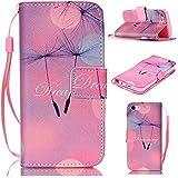 6S Plus Case,iPhone 6S Plus Case,With Strap Wristlet Slim PU Leather Case Wallet Cases Magnetic Closure Case For... - B019C3GVLM