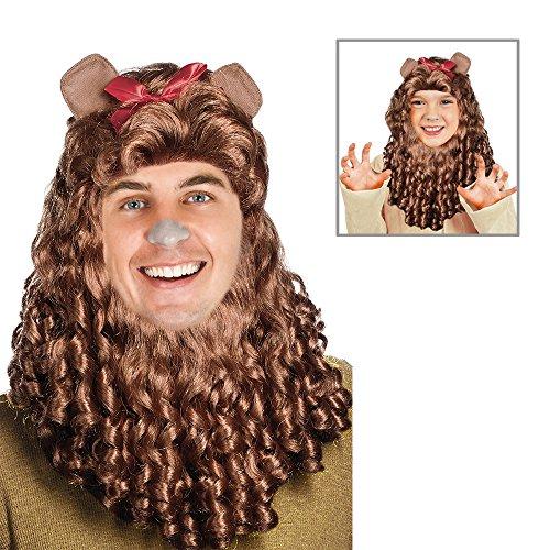 Wizard Of Oz Cowardly Lion Costume Mane