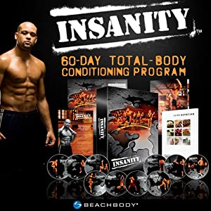 Insanity: The Ultimate Cardio Workout and Fitness DVD Program