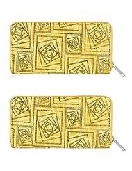 Chiara Wallet ( Combo Of 2 Wallets ) By Heels & Handles (N1210)