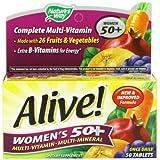 Alive Women's 50+ Multivitamin - Multimineral Nature's Way 50 Tabs