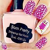 15ml Born Pretty Nail Art Stamping Polish Pink Nail Polish 16# # 22336